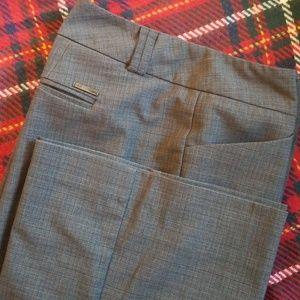 New York and Co Gray Dress Pants 16 TALL